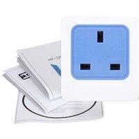 Gorąca Sprzedaż UK Wtyk AC 90 V-265 V 2200 W 10A Inteligentny WiFi UK Gniazdo zasilania Gniazdo Czasowy Przełącznik Bezprzewodowy Pilot Zdalnego Sterowania Wysokiej jakość