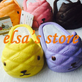 squishies 1 piece kawaii rare squishy jumbo kapibarasan Slipper squishy slow rising with tags kids squeeze toy charm pendant
