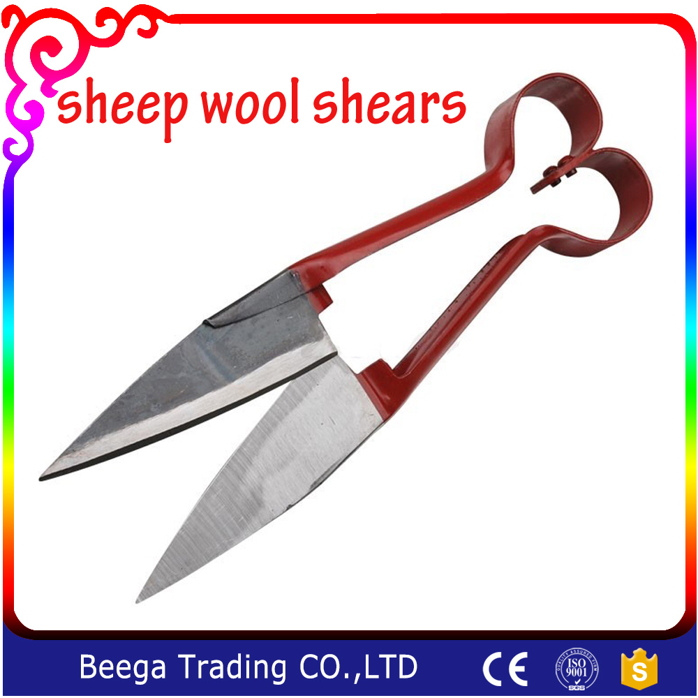 DIY Screen Printing Shirt High Carbon Steel Germany Imported Steel Scissors Pusher Manual Wool Shave Shears Lengthen Sharpen Sissor with Shipping Fee
