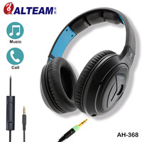 Cambiar la Cubierta de Auto diseño de ajuste de tono de Una Sola cara desmontable cable de audio auriculares con en línea recibir llamadas de control