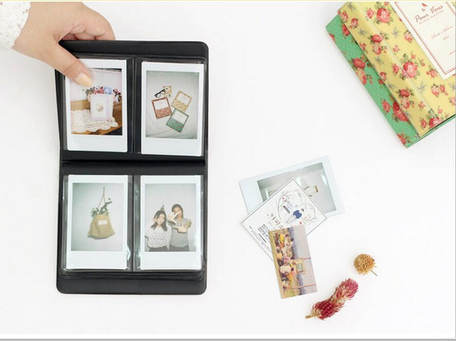 Vintage Floral Blooming Mini Polaroid Album mini 25 / 7s 8 ретро - Үйдің декоры - фото 3