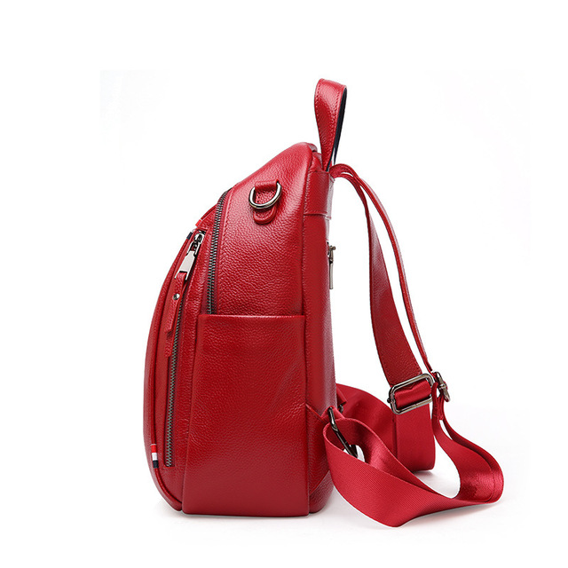 Genuine Leather Travel Backpack