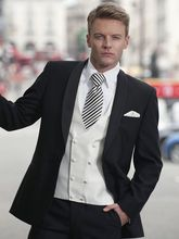 Latest Coat Pant Designs italian Black White Men Suit Slim Fit 3 Piece Tuxedo Groom Suits Custom Fashion Prom Blazer Masculino C