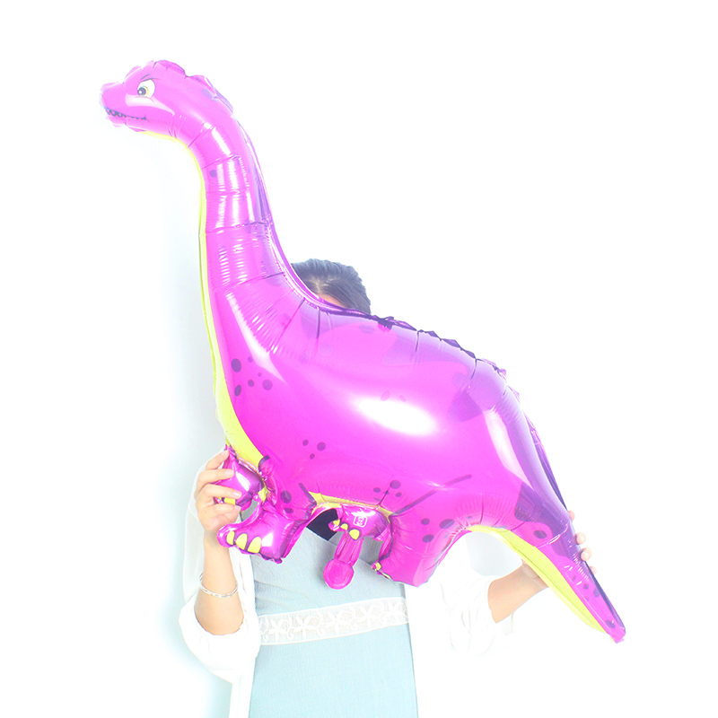 1Pcs Giant Dinosaur red green Foil Balloon dinosaur party Balloons Birthday Party Decorations Kids toy globos in Ballons Accessories from Home Garden