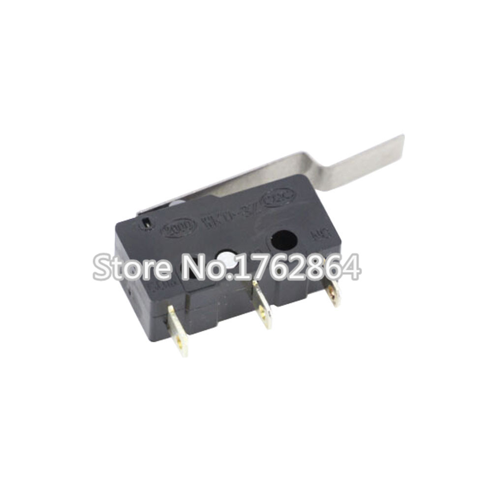 10PCS/LOT 3pin All New Limit Switch N/O N/C 5A250VAC KW11-3Z Mini Micro Switch 29mm Handle