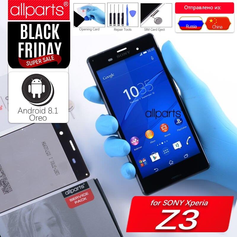 Original LCD Für SONY Xperia Z3 Display Touchscreen mit Rahmen für SONY Xperia Z3 Dual Display LCD D6633 D6603 ersatz