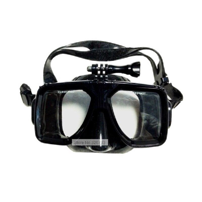 LayaTone Adulte Vue Panoramique Masque de Plongée Silicone Plongée En Apnée Masque Clair Trempé Verre pour Masque Plongée sous-marine Masque De Natation