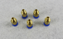 10PCS/LOT PC4-M6 Pneumatic Straight Fitting Connector for 4mm OD tubing M6 6mm 3D Printer PARTS