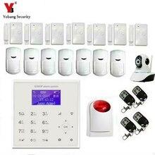 YobangSecurity WIFI Burglar Alarm Video IP camera Wireless GSM House Security Safety System Wifi IP Camera Wireless Flash Siren