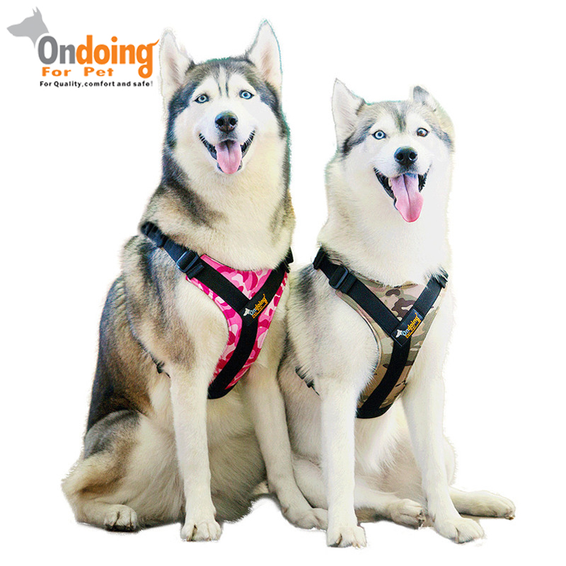Professional Pet Dog Harness Vest Collar Outdoor Walking Leads Comfortable Pet Harness Small Medium Large Dog Accessories