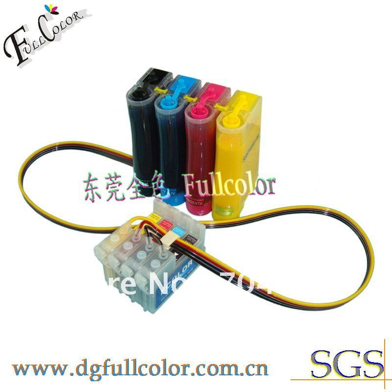 Free shipping 4 color Sublimation CISS with 400ml transfer ink for Epson C64 C66 C84 C88 inkjet printer free shipping 5 pcs lot 24v 300 400ml m jyy b 30 ink pump outdoor printer solvent inkjet printer printer parts
