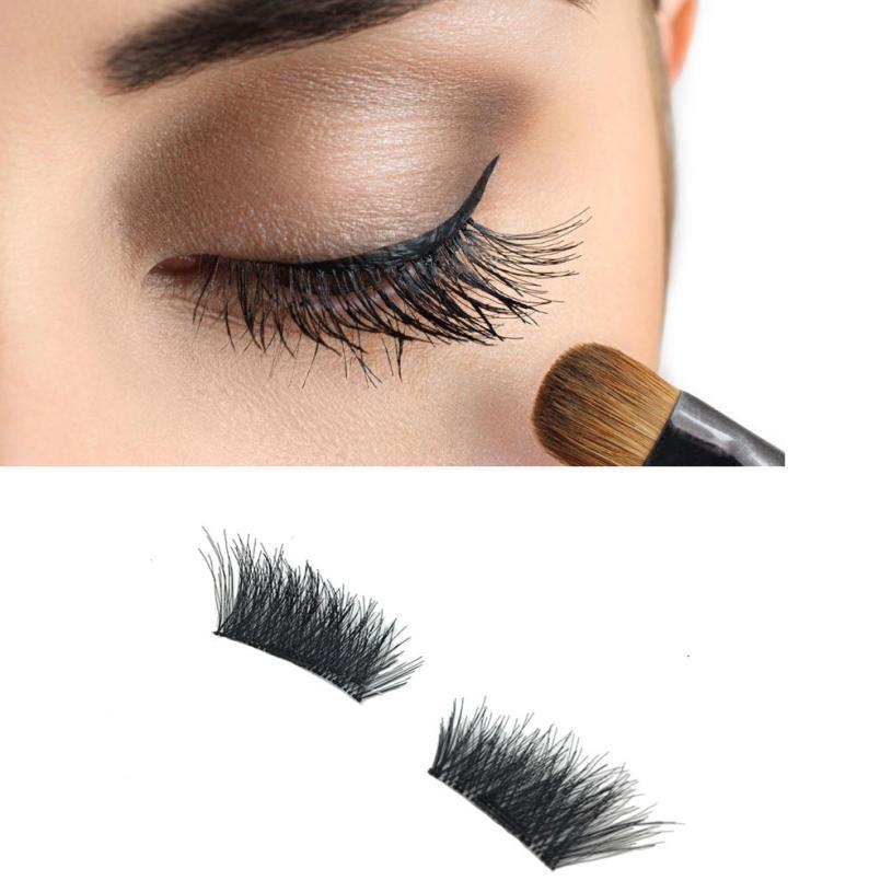 magnetic eyelashes 0.2mm thin False Eyelashes Synthetic Hair magnetic eyelash 3D Reusable extension lashes New 12.5