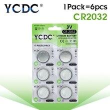 Высокое качество литий-ионный 3 в CR2032 DL2032, ECR2032, 5004LC, KCR2032, BR2032, KL2032, многофункциональная Кнопочная батарея для монет