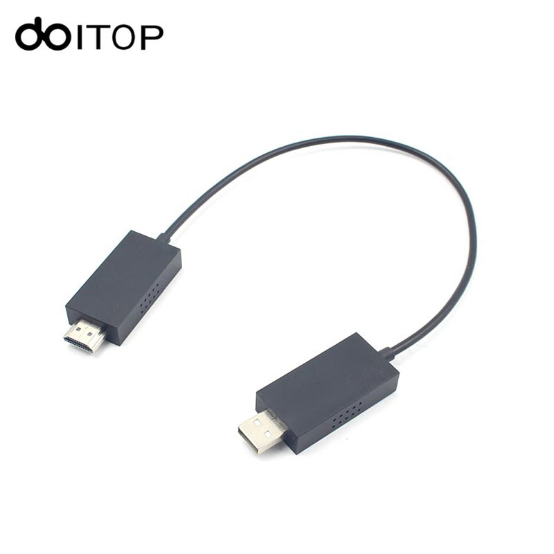 Doitop для Microsoft Беспроводной Дисплей адаптер Беспроводной Аудио Видео Extender кабель доля ноутбук/Планшеты/смартфон к HDMI HDTV #3