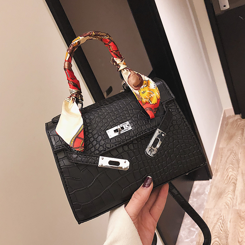 High Quality Alligator Women Bags High Quality Crocodile Leather Brand Designer Female Shoulder Bags Small Women Messenger Bags