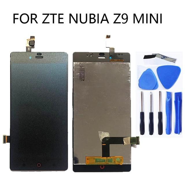 "5.0 ""LCD 스크린 대 한 ZTE 누비아 Z9 Mini z9mini nx511j original LCD screen + touch screen 디지타이저 교체 kit + tools"