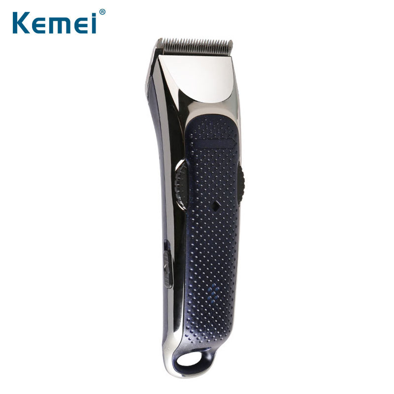 kemei hair trimmer rechargeable electric clipper hair cutting beard shaving machine professional electric shaver razor barber kemei professional hair beard trimmer hair trimer hair shaver razor clipper electric barber shaver plug use hair cutting machine
