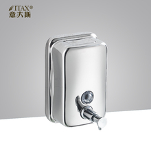 304 Stainless steel manual soap dispenser X-2257 500ml/800ml/1000ml hand seifenspender holder home hotel kitchen soap bottle