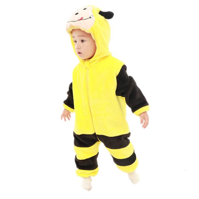 Baby Boys Animal Jumpsuit