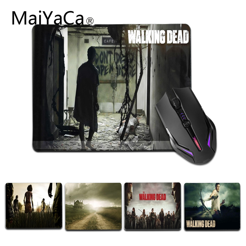 MaiYaCa Walking Dead Season Coque Office Mice Rubber Mouse Pad Size for 180x220x2mm and 250x290x2mm Small Mousepad