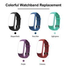 Smart Bracelet Adjustable Wristband Colorful Watchband Replacement Accessory for Fitness Tracker ID107 Plus HR Smart Bracelet цены онлайн