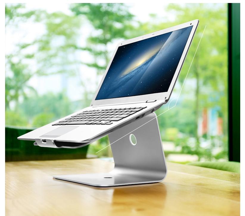 Support dordinateur portable pour Macbook Air Pro HP Acer ordinateur portable en aluminiumSupport dordinateur portable pour Macbook Air Pro HP Acer ordinateur portable en aluminium