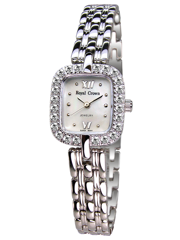 Royal Crown Jewelry Watch 3603S Italy brand Diamond Japan MIYOTA platinum authentic fashion Korean version trendy female royal crown jewelry watch 1514b italy brand diamond japan miyota platinum bracelet korean version female watch fashion