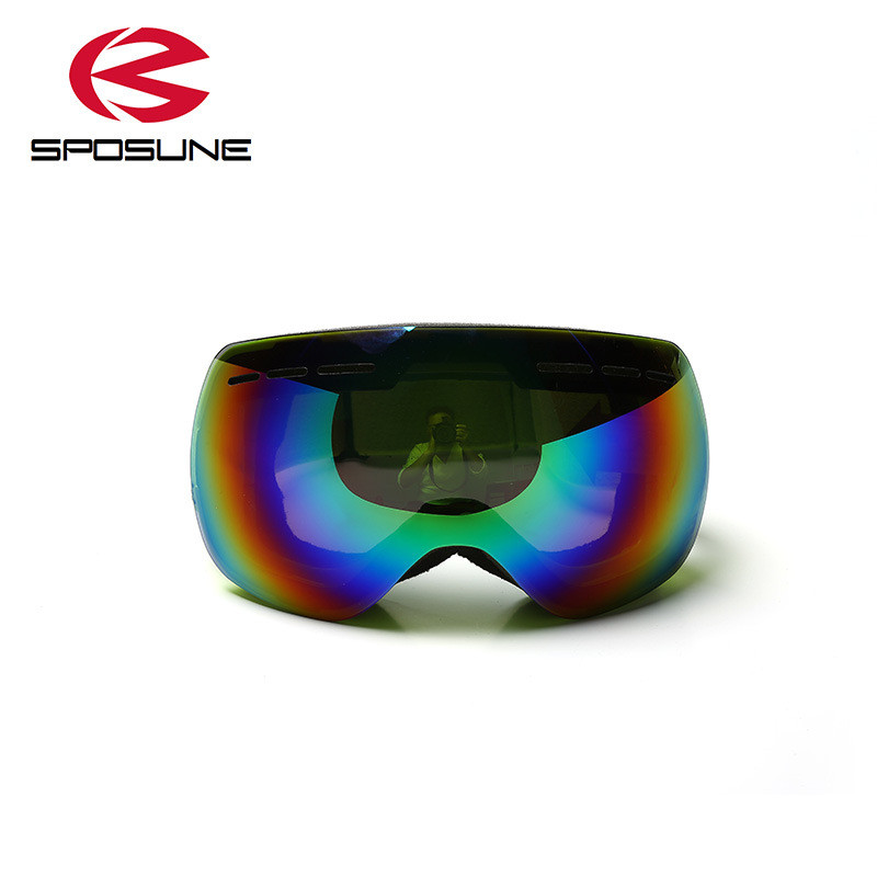 963552c4f2f0 Frameless Ski Goggles Men s Women s Snowboard Glasses gafas Ski Googles skiing  eyewear anti fog UV windproof winter snow skibril