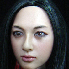 Popular 1: 6 Scale head sculpt shape Kumik KM001 model for 12