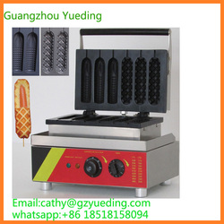 Muffin hot dog and corn waffle making machine for sell/commercial hot dog waffle maker