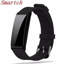 Smartch X9 умный Браслет Bluetooth 4.0 трекер сна группа поддержки монитор сердечного ритма вызова SMS напоминание smartband для iOS Androi