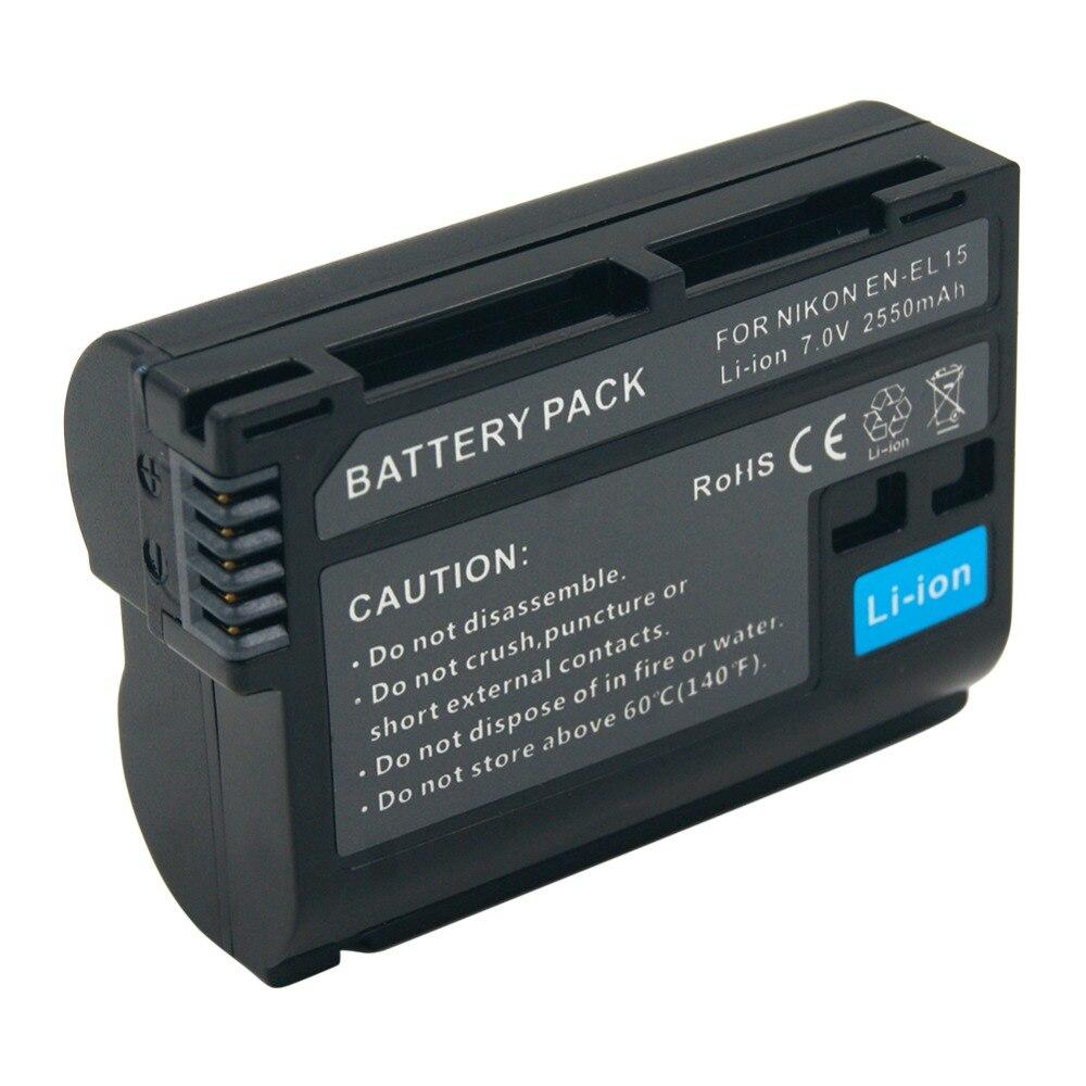 Bateria Da Câmera para Nikon D500 D750