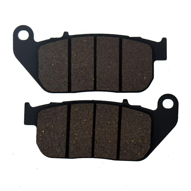 Motorcycle Brake Pads For HARLEY DAVIDSON XL 50 50th Anniversary Sportster XL 883 C Sportster Custom R Roadster N Iron P42 motorcycle front and rear brake pads for harley davidson xl 1200 r xl1200r sportster roadster 2004 2008 black brake disc pad
