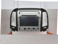 7 Pure Android 4 4 4 For Hyundai SANTA FE 2006 2012 Car DVD Gps Navi