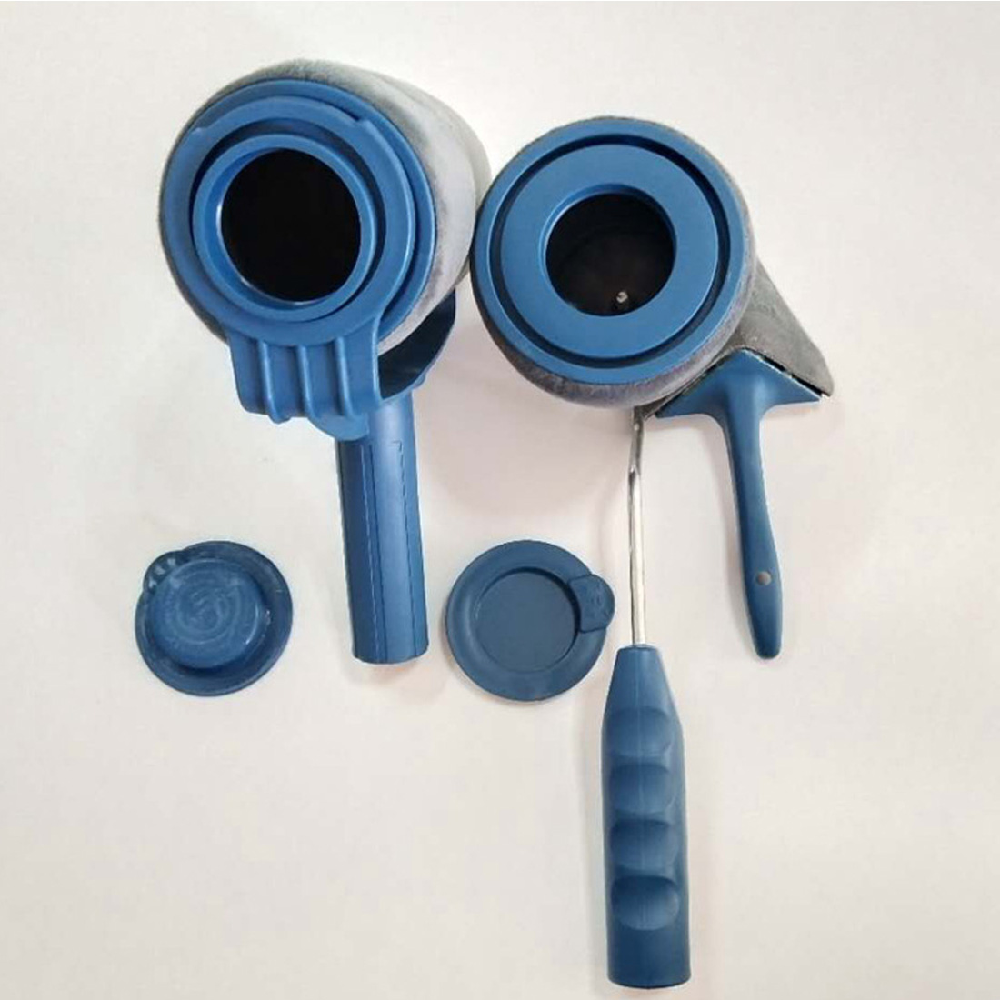 5 piezas de la pintura de DIY Runner Pro cepillo conjunto de herramientas con flocado bordeadora Oficina Casa habitación de pintura de la pared de pintura cepillo conjuntos