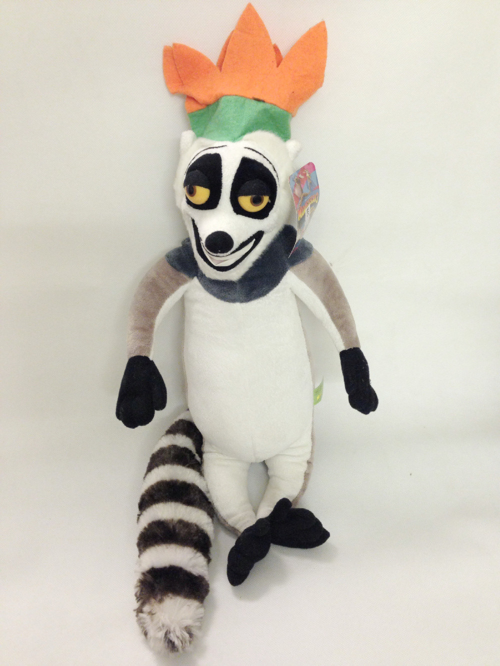 цена  Madagascar King Julien XIII Plush Toy, Lemur Baby Gift, Kids Doll Christmas gifts 30cm  онлайн в 2017 году