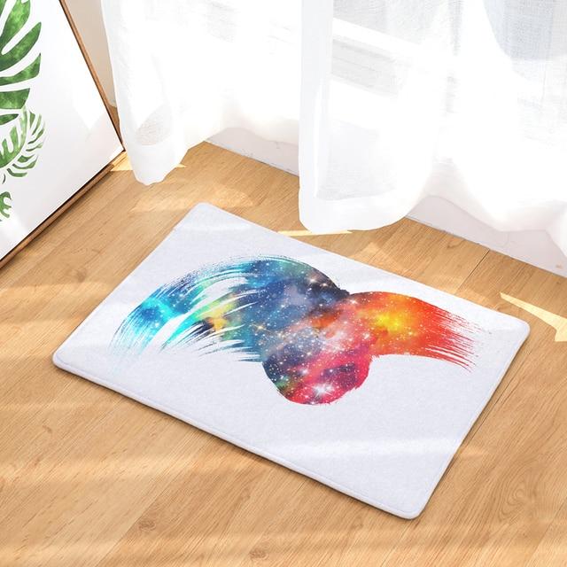 High Quality Doormat Carpets Funny Watercolor Print Mats Floor Kitchen Bathroom Rugs 40x60or50x80cm