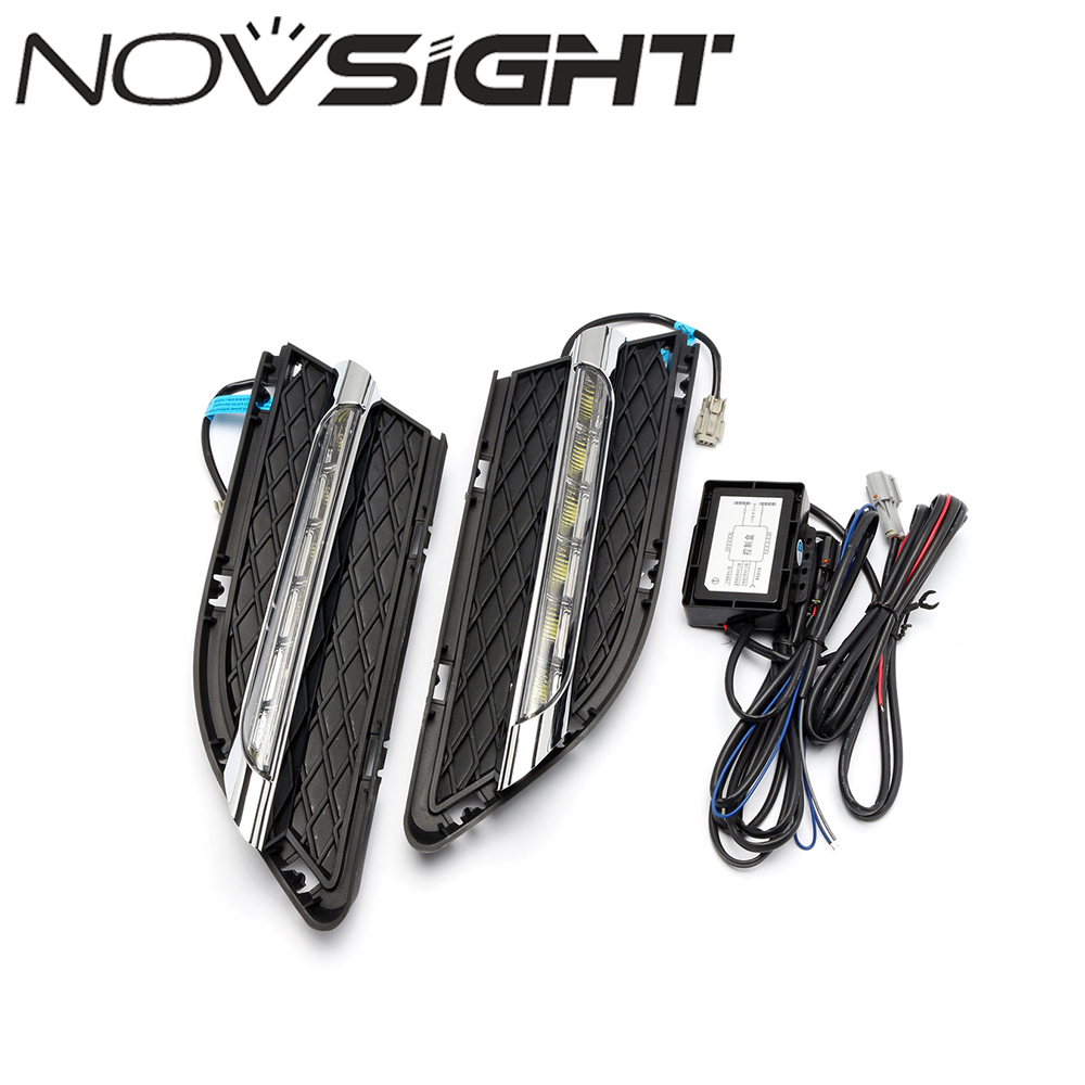 2X Auto Car LED Light Daytime Running Lights Kit DRL Driving Fog Lamp For BMW 3 Series 2010 2011 2012 Free Shipping car styling daytime running light auto fog lamp for b mw e90 3 series led daylight drl