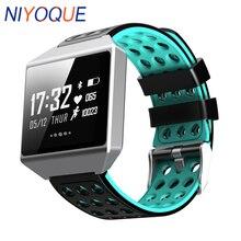 NIYOQUE Smart Bracelet CK12 Touch Screen Smart Band ECG Heart Rate Blood Pressure Sport Pedometer Call Reminder Smart Watch