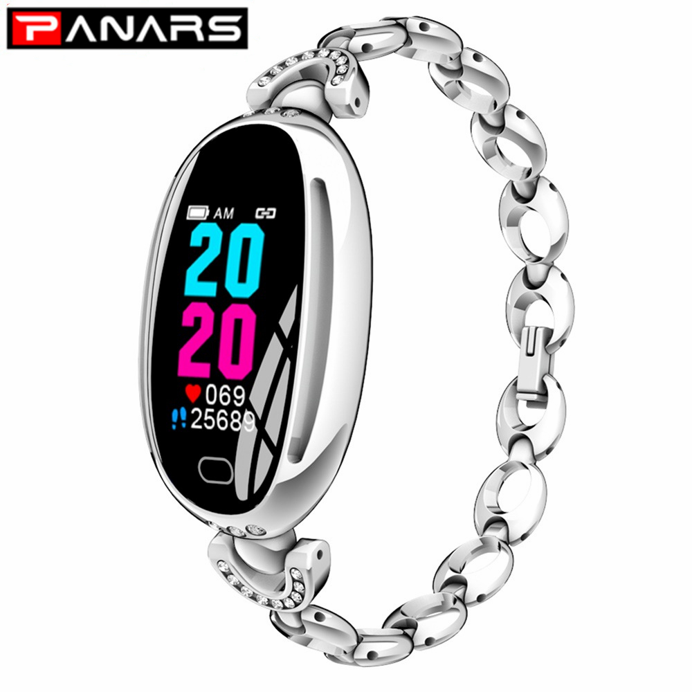 PANARA New Arrival Simple Women's Smart Watches Fashion LED Display Message Reminder Alarm Heart Rate Monitor Sports Men's Watch