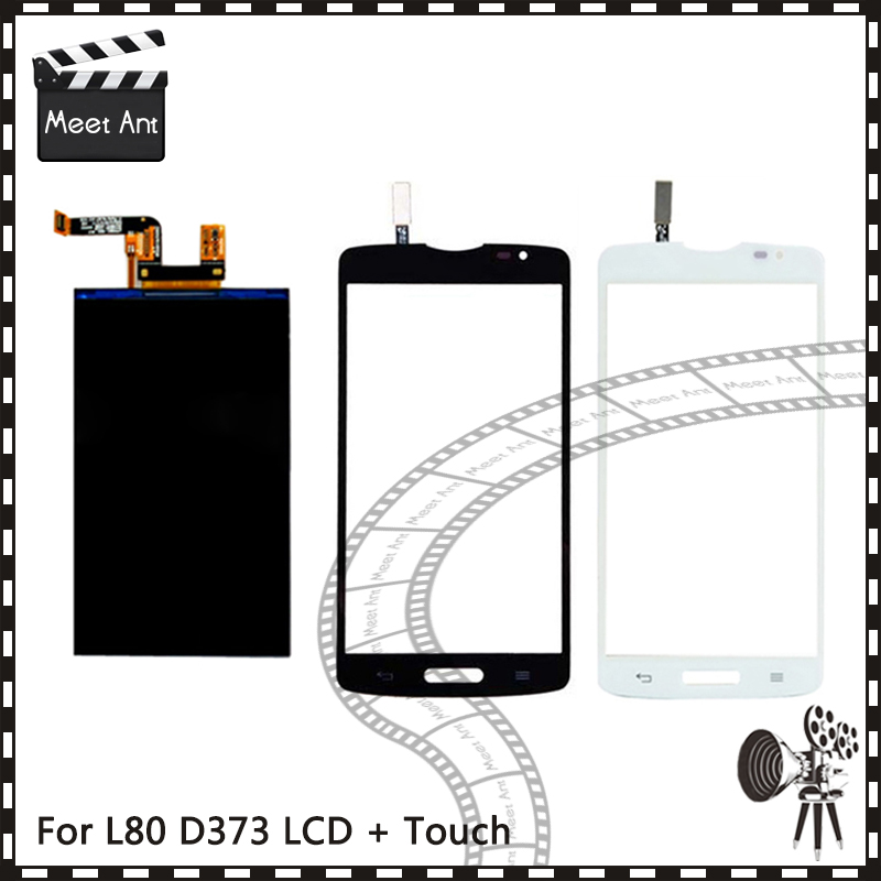 New High Quality 5.0'' For LG Optimus L80 D373 Lcd Display With Touch Screen Digitizer Sensor