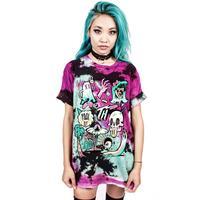Casual Women Sexy Colorful Tops Shirts Print Men Women Cute Festival Halloween Tank Party Top Blouse