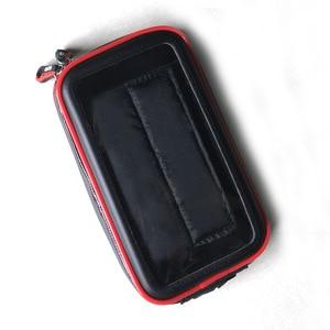Image 4 - BuzzLee Universal Rail Mount Mobile Phone Holder Waterproof Zipper Case Motorcycle Bike Bicycle Handlebar Mount Holder Stand Bag