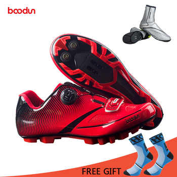 Boodun Breathable Professional Self-Locking Cycling Shoes MTB Bicycle Shoes Non-Slip Bike Racing Shoes Sapatos de ciclismo - DISCOUNT ITEM  40% OFF All Category