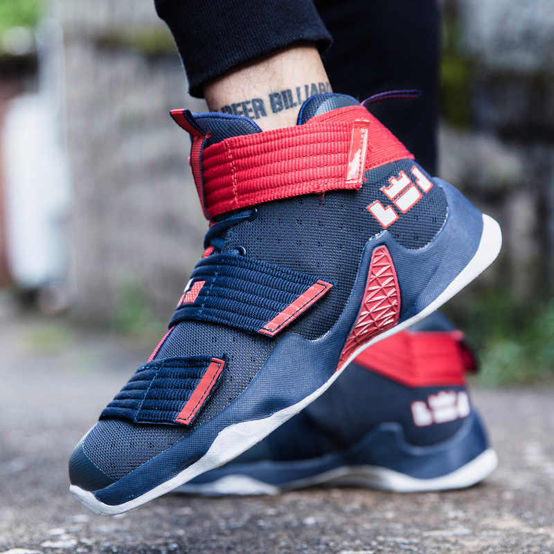 61564a4ba53d ... Concrete Floor High Outdoor Basketball Shoes Men Kids Cheap Couple  Adult James Harden Cool Sneakers zapatos ...