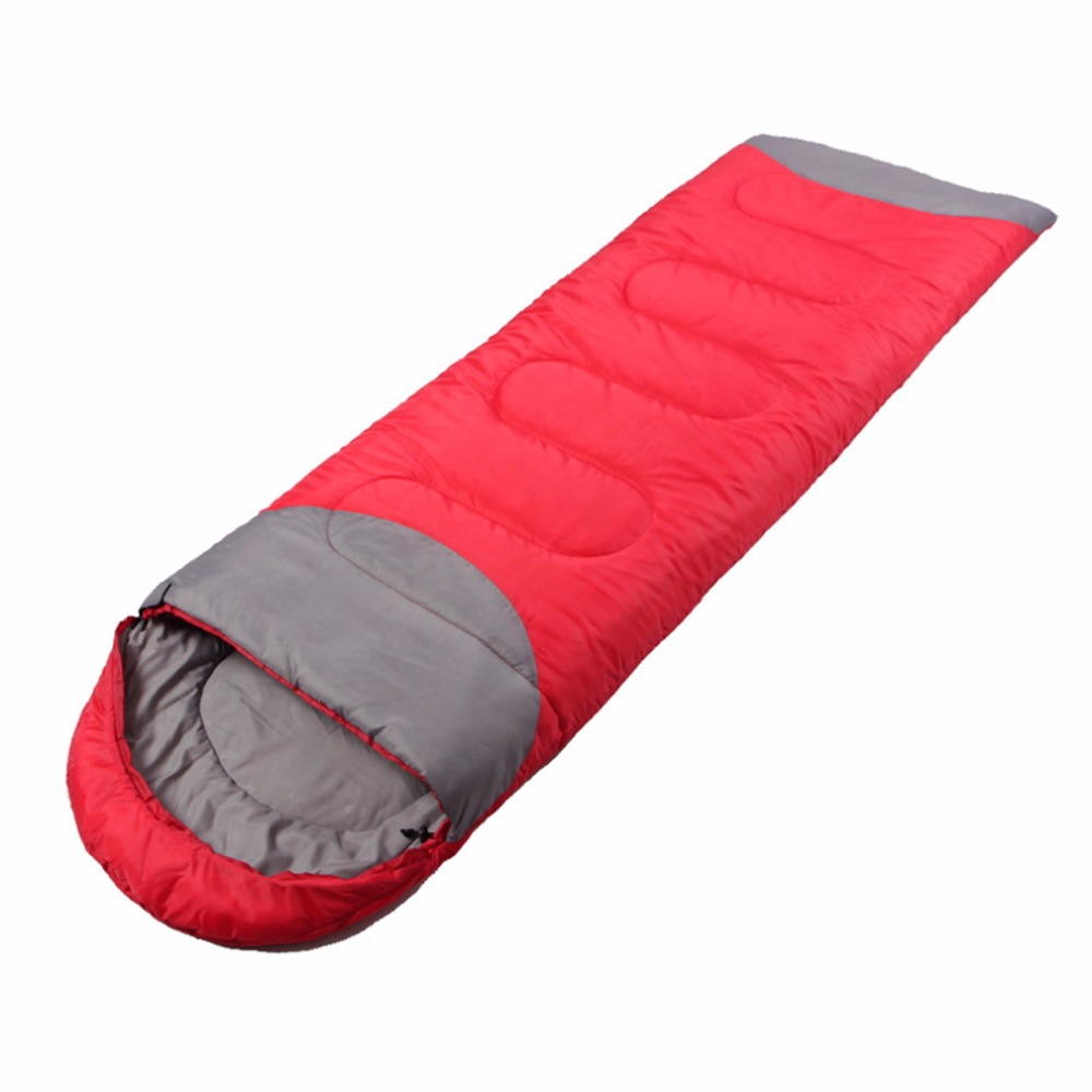 Sleeping Bag Outdoor Camping Hiking Travel Waterproof Single Thick Carry Bed