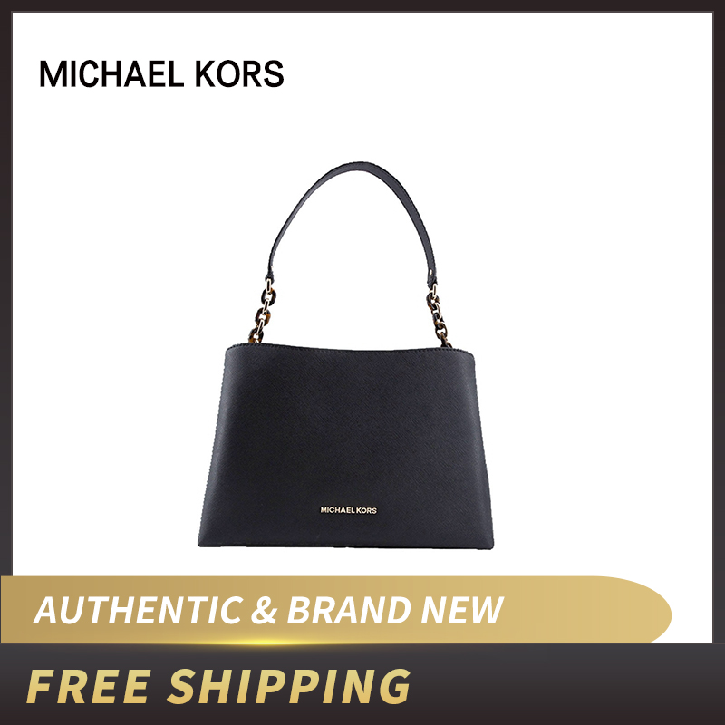 Michael Kors Sofia Portia grande sacoche sac bandoulière Saffiano sac à main en cuir 35F8GO5S9L/35F8GO5S7L