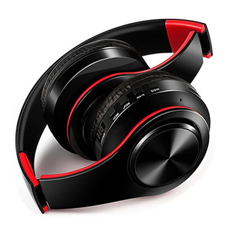 NDJU Drahtlose Kopfhörer Bluetooth Headset Bluetooth Kopfhörer Faltbare Einstellbare Headset mit MIC für handy
