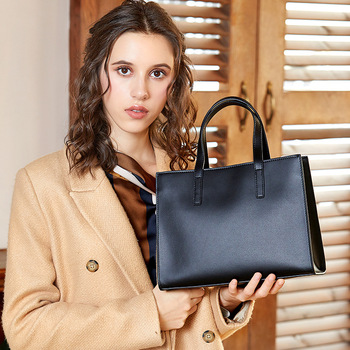 Special Offer European Fashion Style Genuine Leather Totes Elegant Shoulder Bags Casual Women Leather Handbag