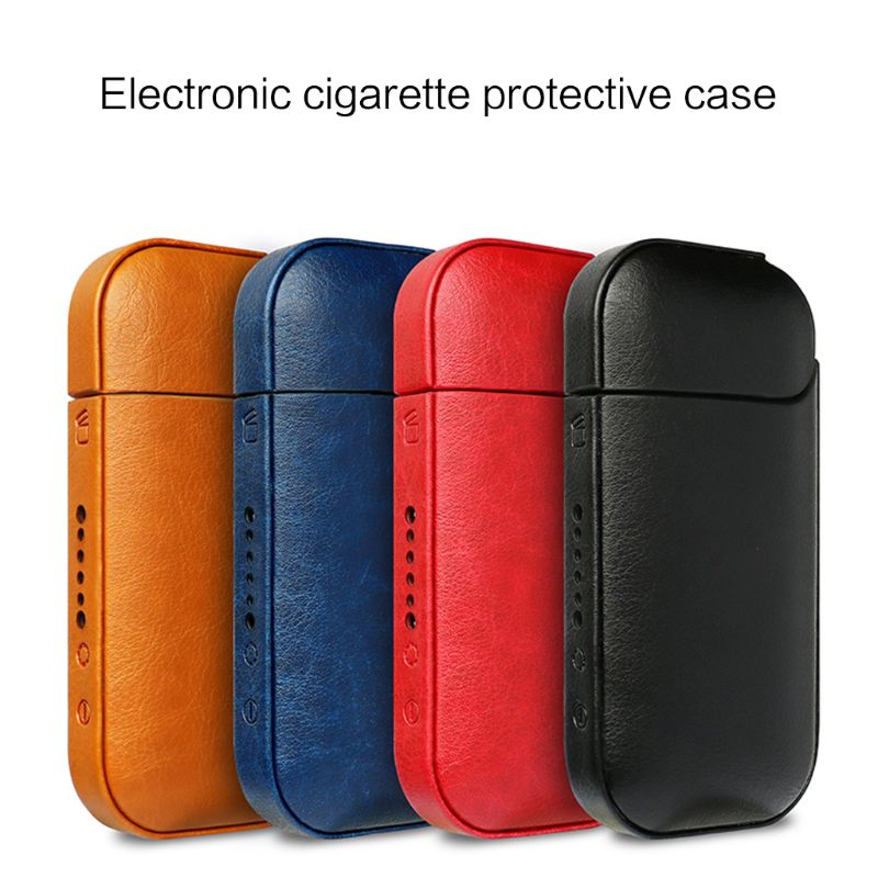 Portable Anti-fall PU Leather Protive Cover Case Bag Carrying Pouch For IQOS 2.4 Plus Elronic Cigarette Vape Accessories